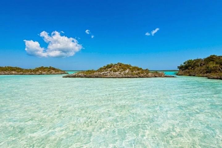 Schönheit der Lagune Chalk Sound 6