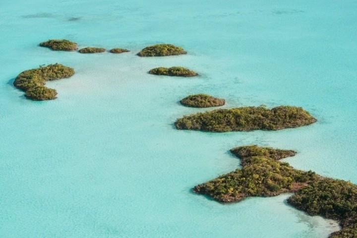 Schönheit der Lagune Chalk Sound 9