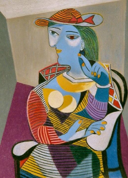 Sitzende Frau Marie Therese Von Pablo Picasso