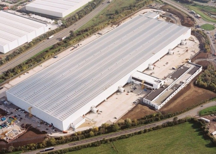 Tesco Distribution Center in Irland