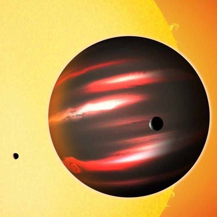 TrES-2b- Planet des Schwarzen Lochs