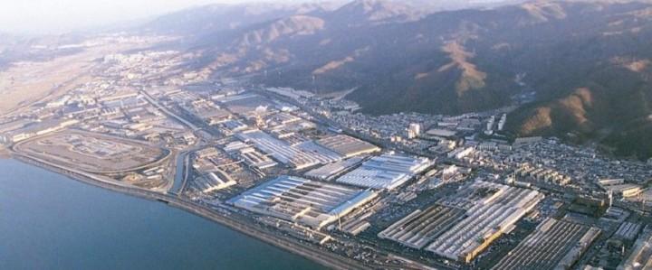 Ulsan Fabrik Hyundai