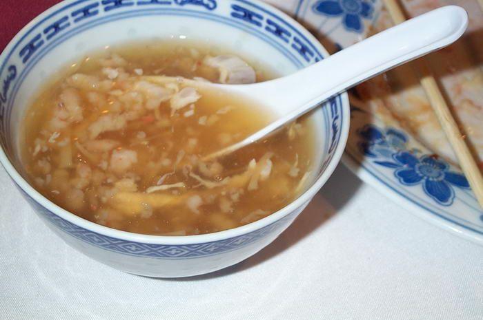 Vogelnest-Suppe