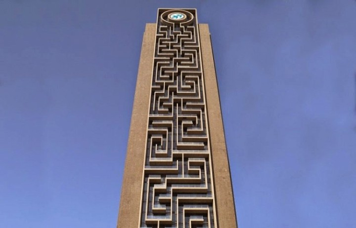 größte vertikale Labyrinth der Welt 1
