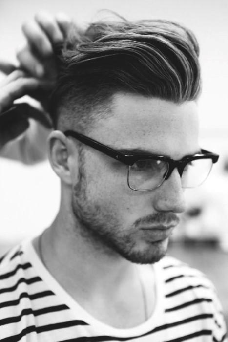 Coole Frisuren Für Lange Haare Männer Slicked Back Kunstopde