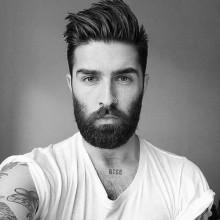 Coole Frisuren mit Bärten für Männer