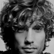Coole Herren curly Frisuren