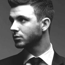 Coole männliche business-Frisuren