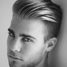 Frisuren auf der Seite für Männer