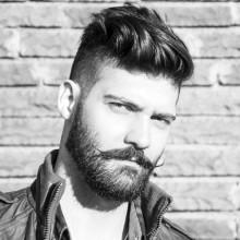 Frisuren für Herren-medium Dicke wellige Haare