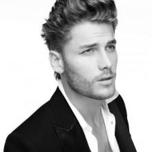 Frisuren für Herren mit Mittel-welliges Haar