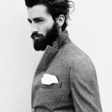 Frisuren für Männer Dicke Haare