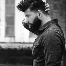 Frisuren für Männer mit BART