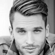 Frisuren für Männer welliges Haar