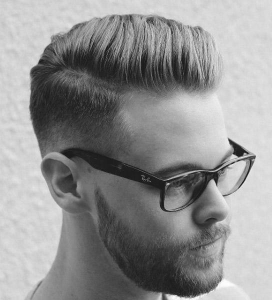 Männer für kurze haare Weiße Kurze