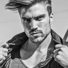 Frisuren für lange, mittlere Haare bei Männern
