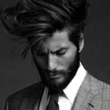 Frisuren für mittlere bis lange Haare-Ideen für Männer