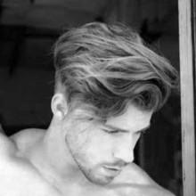 Frisuren für welliges Haar, Männer,