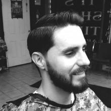 Geschäft Frisur Männer