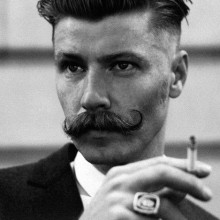 Haarschnitt für Männer mit dicken Haaren