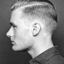 Haarschnitte für Männer kurze Haare Seitenteil