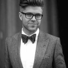 Herren Edel haircuit mit Anzug style