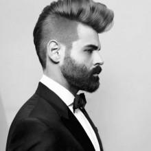 Herren Frisur Rasiert Seiten