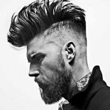 Herren-Haar-Irokesen-style trendy