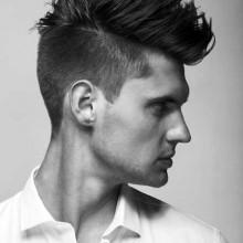 Herren-Haarschnitt Stile für Dicke Haare
