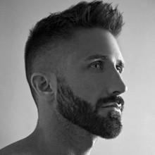 Herren Haarschnitte Rasiert Seiten