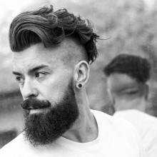 Herren Haarschnitte Unterschnitt