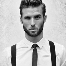 Herren kurze Frisuren für Dicke hair1