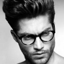 Herren kurze Haarschnitte für Dicke Haare