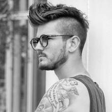 Hinterschneidungen für Herren Haare