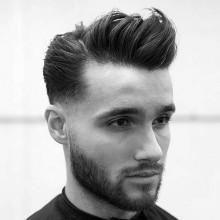 Jungs kurze styles für welliges Haar