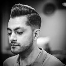 Jungs taper fade Haarschnitte pompadour