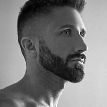 Männchen sehr kurze Haarschnitte für dünne Haare