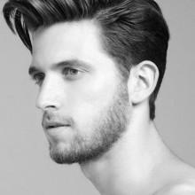 Männer fade Seitenteil Haarschnitt