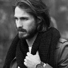 Männer mit welliges Haar