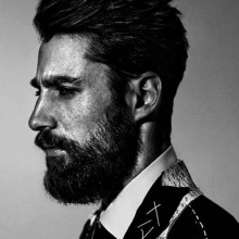 Männer unordentlich Haare