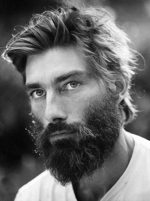 Frisuren Für Männer Mit Bärten