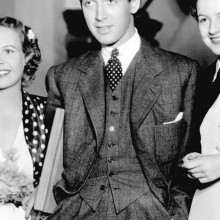 Mann mit mittlerer Länge 1930 Haarschnitt