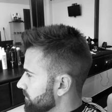 Mode-Wort männlichen Haarschnitte für kurze, dünne Haare taper fade