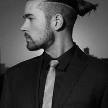 Mode-forward-samurai Haar für Herren