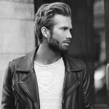 Seite gefegt medium Haar Frisuren für Männer