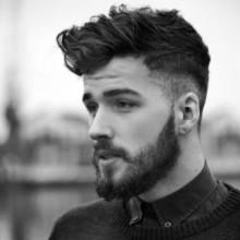 Seiten Rasiert Frisuren für Männer