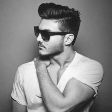 Seitenteil stilvolle kurze Haarschnitte für Männer