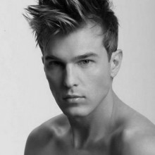 Spike moderne Frisuren für Männer