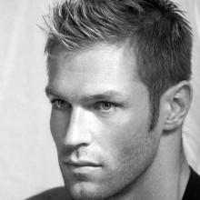 Spike vor mens short Länge männliche Haarschnitte