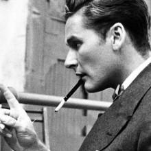 altmodische männliche 1930er-Jahre-Haarschnitte